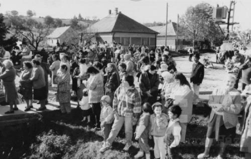 1985 szüreti felvonulás