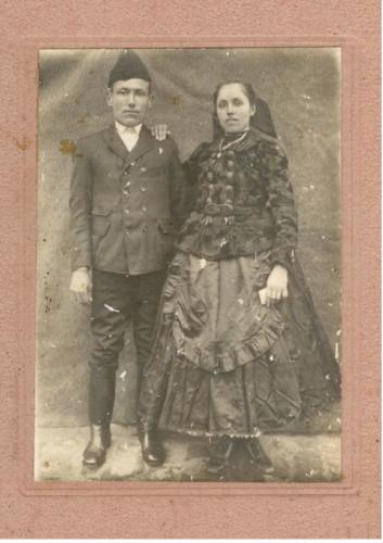 1917nov.6Szűcs Károly Molnár Katalin esküvője