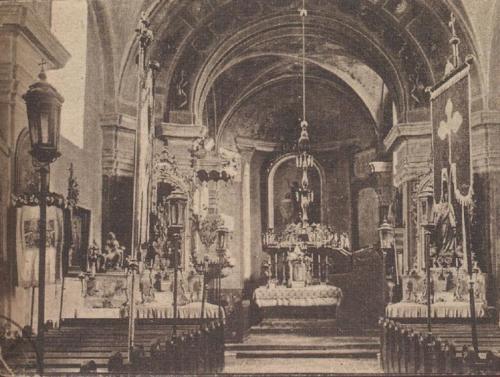 1925 Nagykónyi templombelső