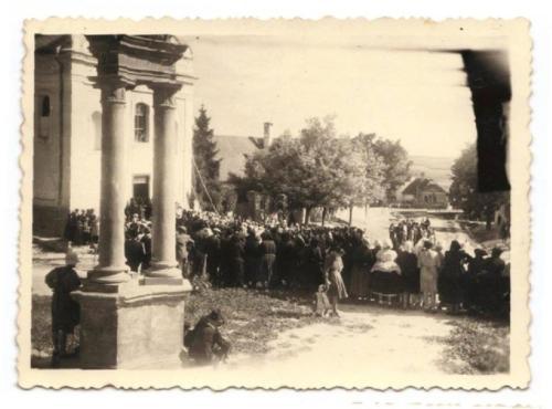 1948 augusztus 15 új harangot kapott a templom1
