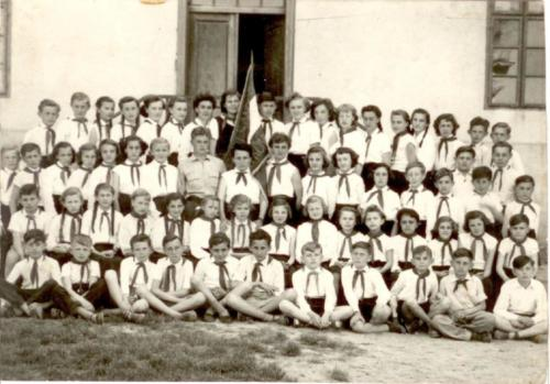 1958 úttörőcsapat