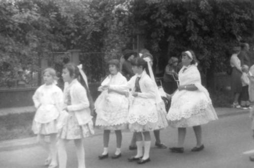 1980-as évek gyerektánc csoport