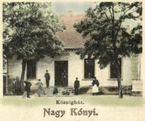 Csak községháza 1905