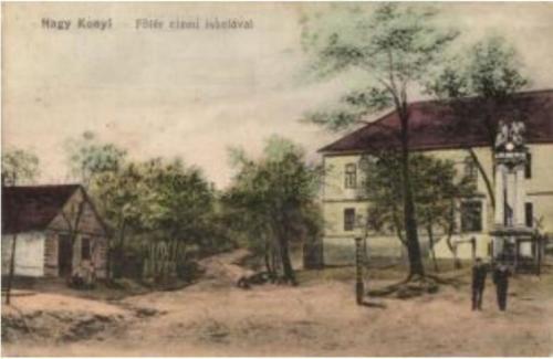 főtér iskolával1905